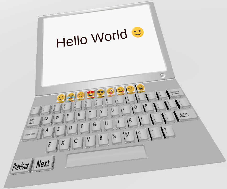 Picture of Virtual Keyboard